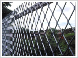 Expanded Metal Fencing Berming Security Fencing Co Anti