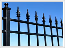 Iron Security Fence Berming Security Fencing Co Anti