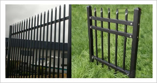 Steel Tube Railing Panels